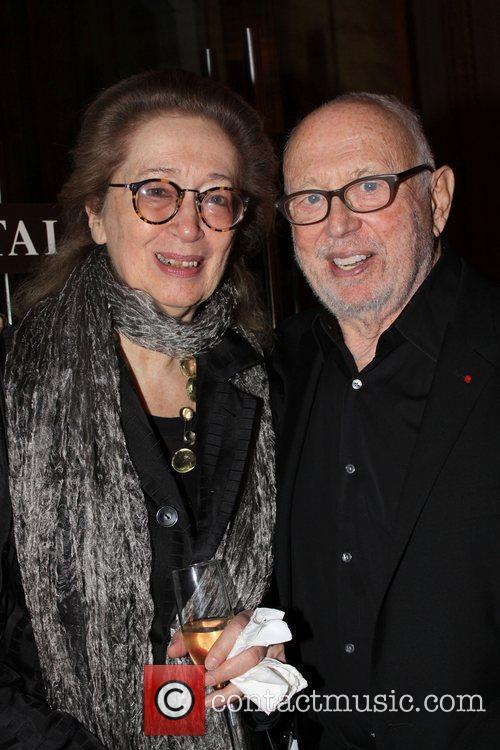 Betsy Baker and Ellsworth Kelly  at the...