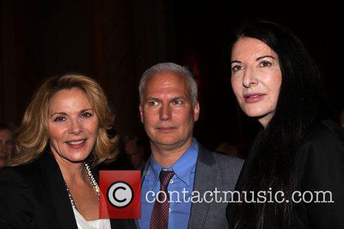 Kim Cattrel, Klaus Beisenbach and Marina Abramovic...