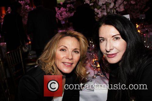 Kim Cattrell and Marina Abramovic  at the...