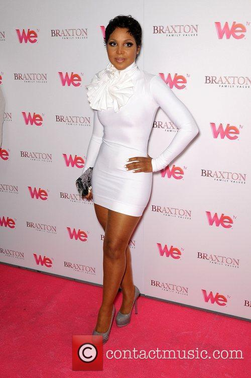 Toni Braxton attends the Launch party for her...