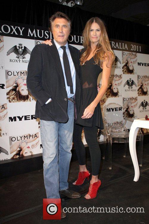 Bryan Ferry, Elle Macpherson and Olympia