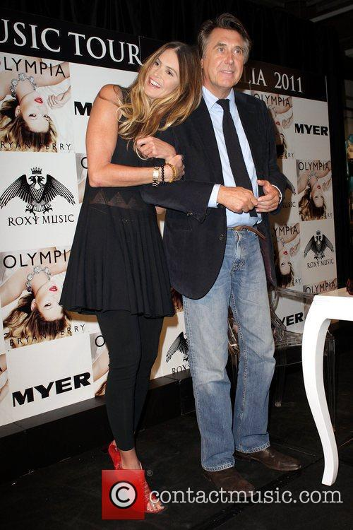 Bryan Ferry, Elle Macpherson and Olympia 2
