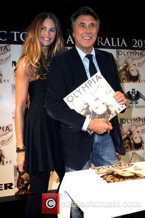 Bryan Ferry, Elle Macpherson and Olympia 4
