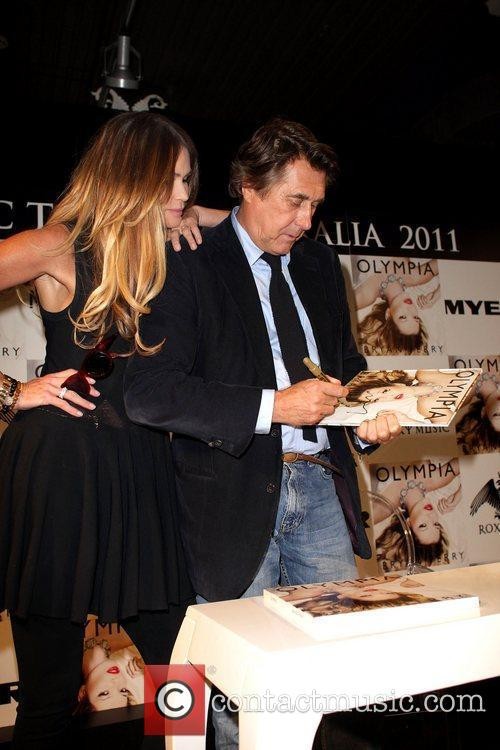 Bryan Ferry, Elle Macpherson and Olympia 7