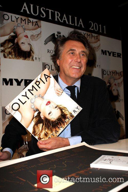 Bryan Ferry, Elle Macpherson and Olympia 6