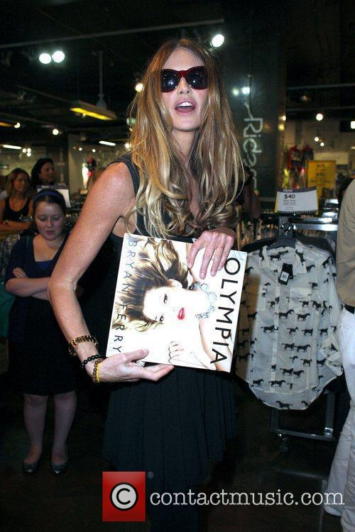 Elle Macpherson attends a signing for the new...