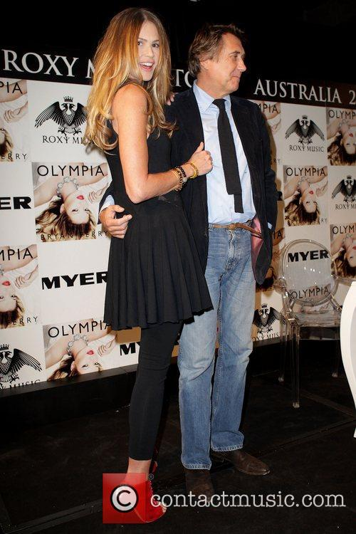 Bryan Ferry, Elle Macpherson and Olympia 11