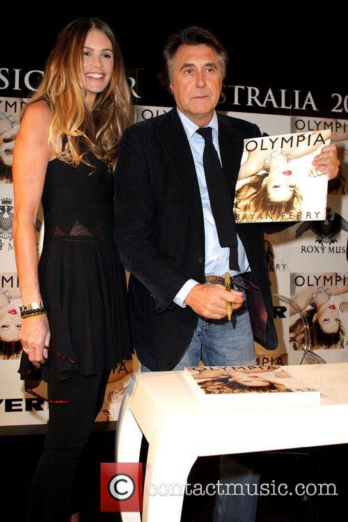 Bryan Ferry, Elle Macpherson and Olympia 10