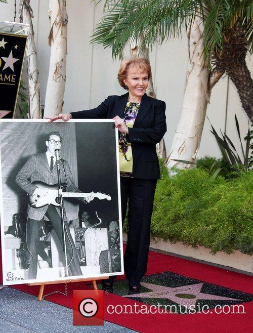 Buddy Holly Star Unveiling On The Hollywood Walk...