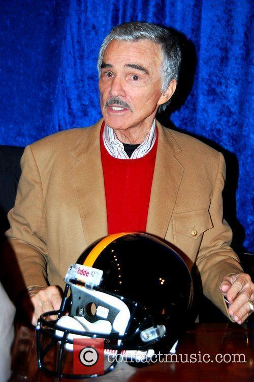 Burt Reynolds makes a special appearance and signing...