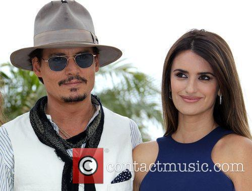 Johnny Depp and Penelope Cruz 1