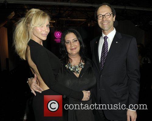 Sylvia Mantella, Michelle Fidani, and Dr. Michael Baker...