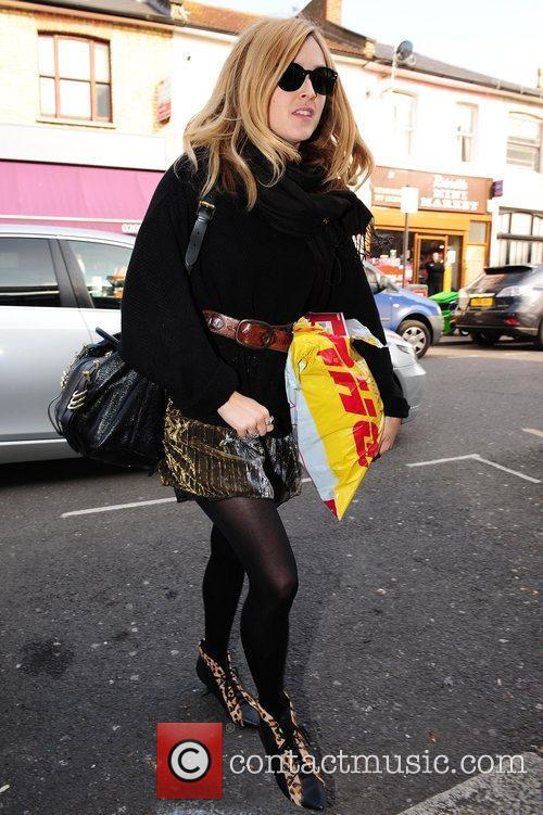 Fearne Cotton arrives for the filming of the...