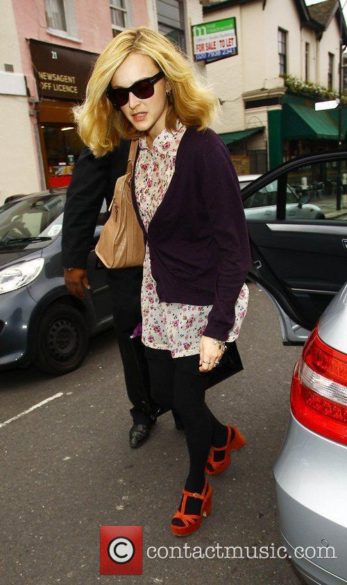 Fearne Cotton  arrives for a taping of...