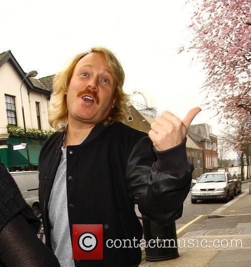 Leigh Francis  arrives for a taping of...