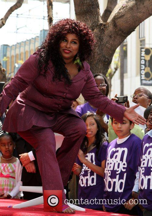 Chaka Khan Hollywood Walk Of Fame Induction Ceremony
