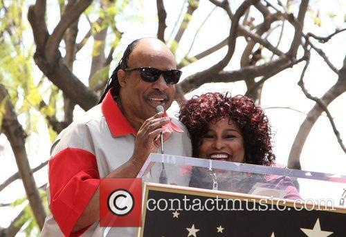 Stevie Wonder and Chaka Khan 2