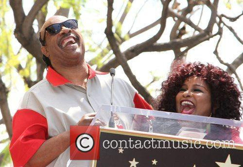 Stevie Wonder and Chaka Khan 8