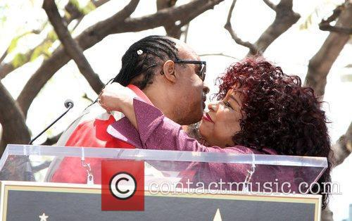 Stevie Wonder and Chaka Khan 12