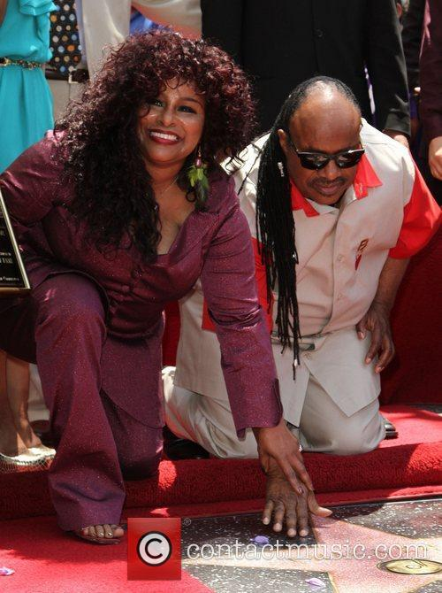 Stevie Wonder and Chaka Khan 13