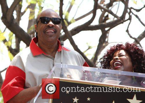 Stevie Wonder and Chaka Khan 9