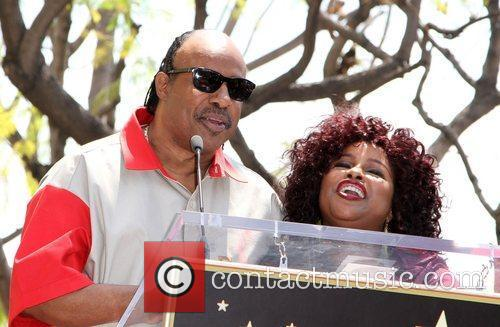 Stevie Wonder and Chaka Khan 5