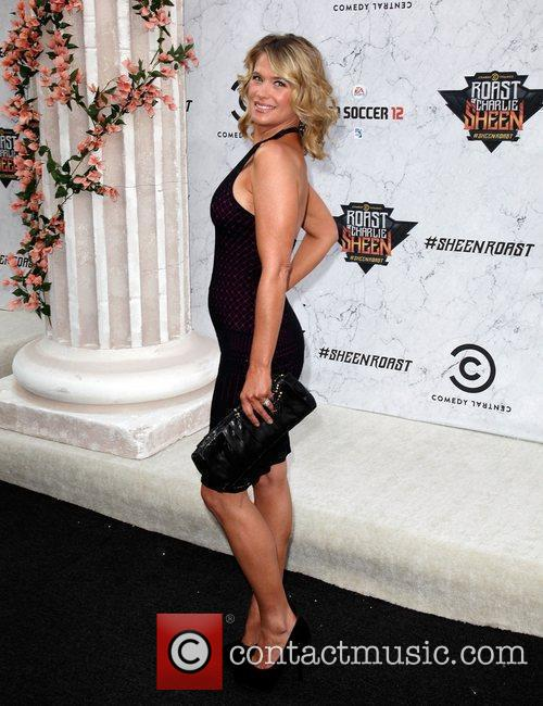 Kristy Swanson Comedy Central Roast Of Charlie Sheen...