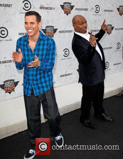 Steve-O and Mike Tyson Comedy Central Roast Of...