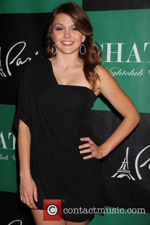aimee teegarden chateau gardens grand opening at 5740916
