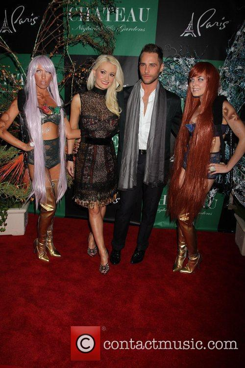 Holly Madison, Josh Strickland Chateau Gardens Grand Opening...