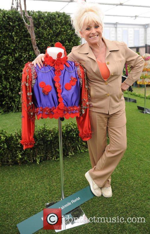 Barbara Windsor  The 2011 Chelsea Flower Show...