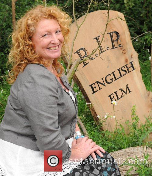 Charlie Dimmock  The 2011 Chelsea Flower Show...