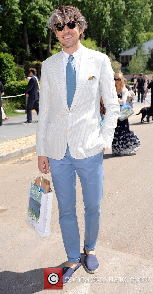 George Lamb  The 2011 Chelsea Flower Show...