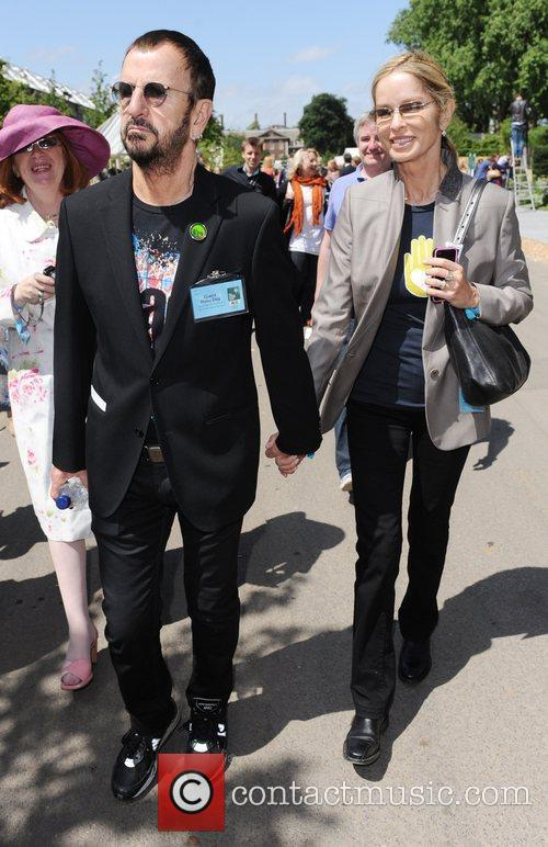 Ringo Starr and Barbara Bach  The 2011...