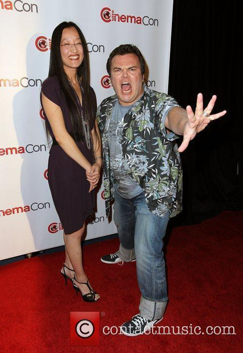 Jennifer Yuh Nelson and Jack Black...