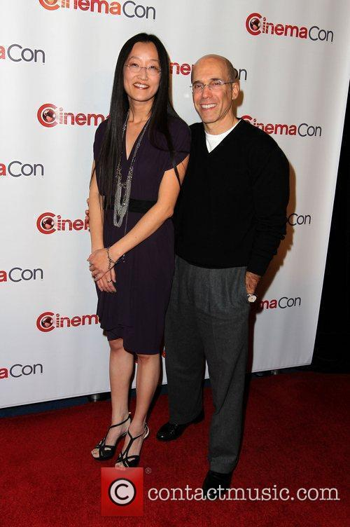 Jennifer Yuh Nelson and Jeffrey Katzenberg...