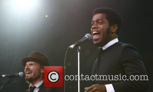 Nalle Colt and Ty Taylor of Vintage Trouble...
