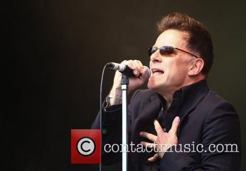 Ricky Ross Deacon Blue performs at The Cornbury...