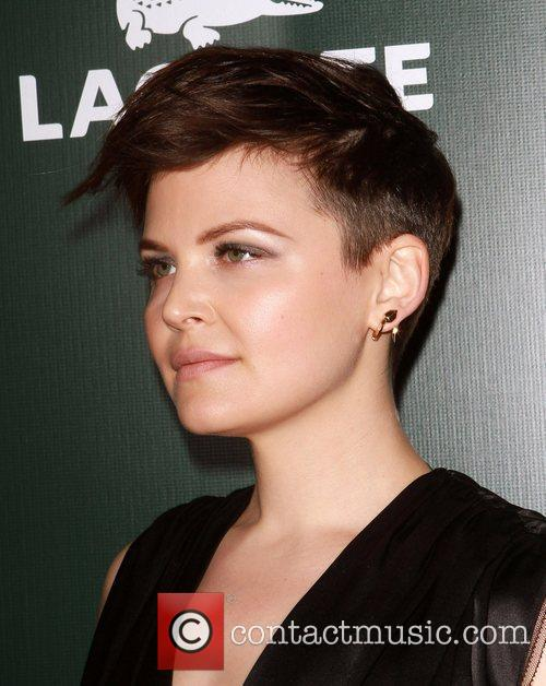 Ginnifer Goodwin and Beverly Hilton Hotel 1