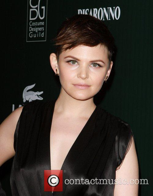 Ginnifer Goodwin and Beverly Hilton Hotel 2