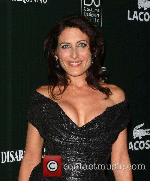 Lisa Edelstein and Beverly Hilton Hotel 1
