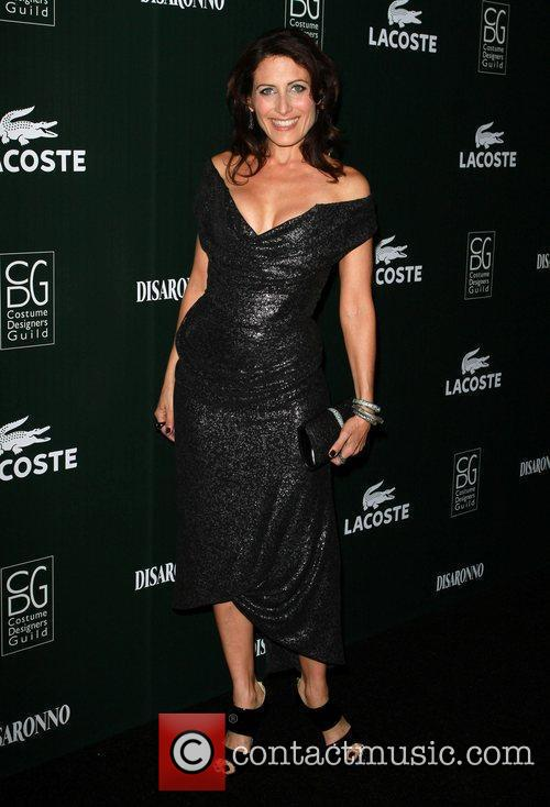 Lisa Edelstein and Beverly Hilton Hotel 3