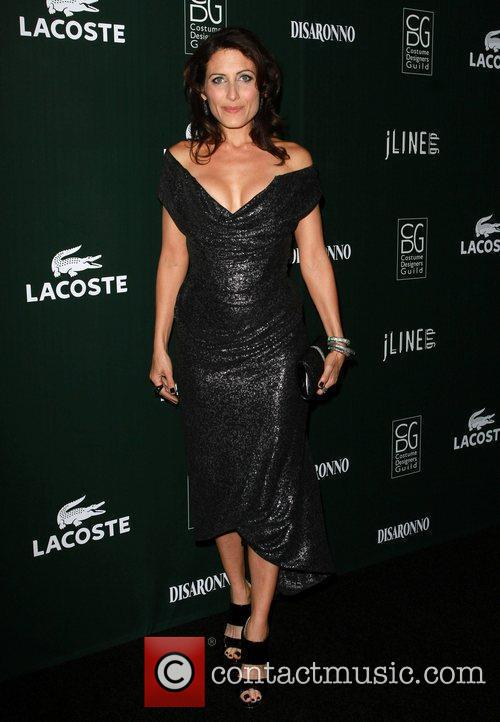 Lisa Edelstein and Beverly Hilton Hotel 2