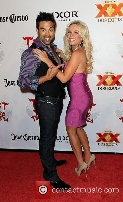 Eddie Judge and Tamra Barney Tacos & Tequila...