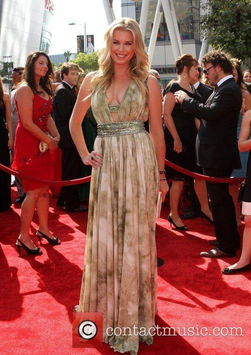 Rebecca Romijn 2011 Primetime Creative Arts Emmy Awards...