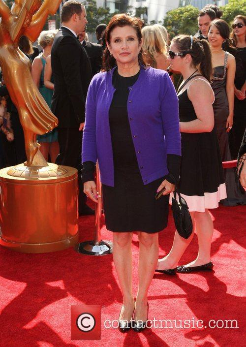 Carrie Fisher and Emmy Awards 1