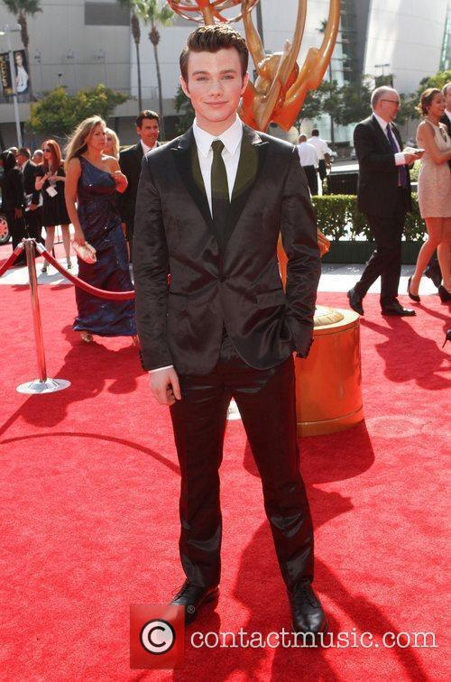 Chris Colfer and Emmy Awards 3