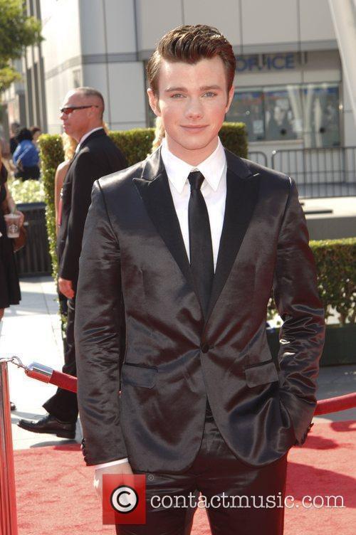 Chris Colfer and Emmy Awards 5