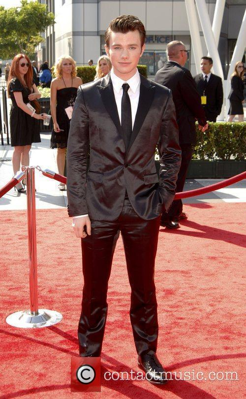 Chris Colfer and Emmy Awards 4