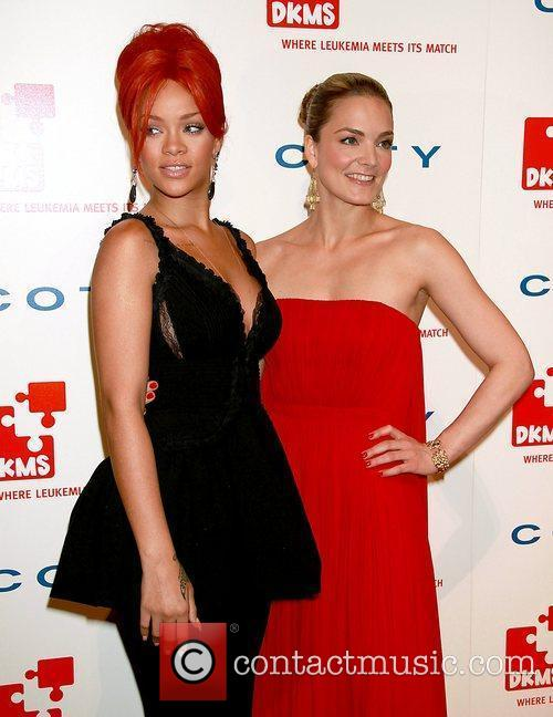 Rihanna and Katharina Harf 7